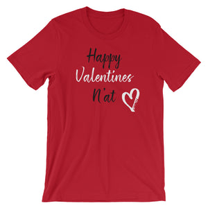 Happy Valentine N'at Short-Sleeve Unisex T-Shirt