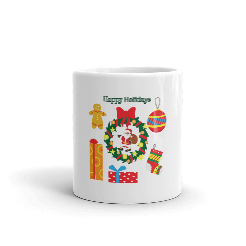 Happy Holidays Ugly Christmas Mug