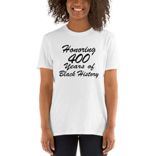 400 Years of Black History Short-Sleeve Unisex T-Shirt