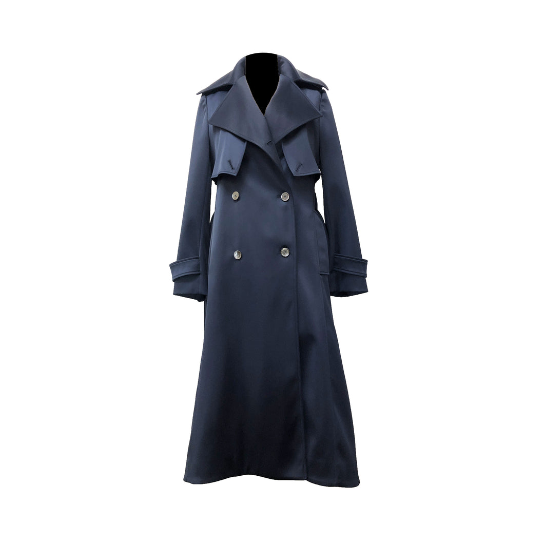 The Bristol Trench Coat - Satin