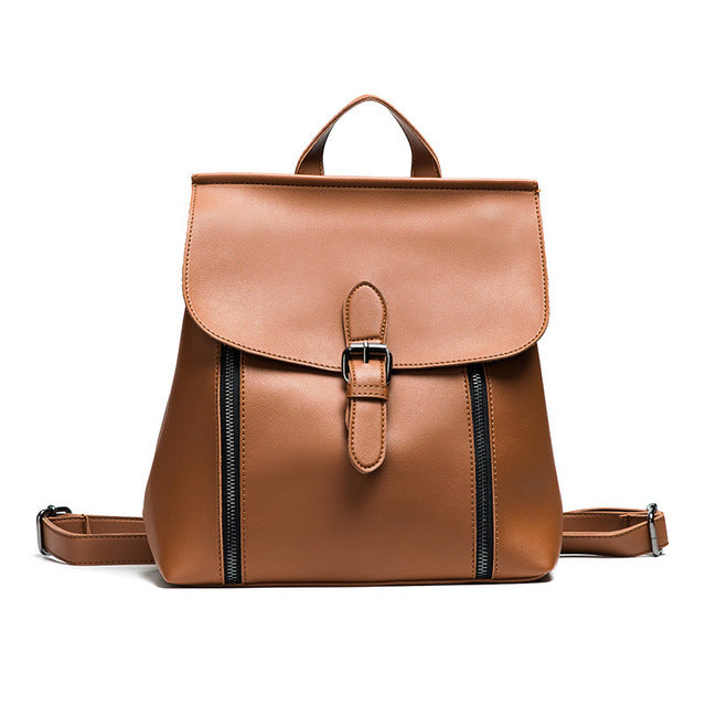 The Traveler Leather Latch Bag