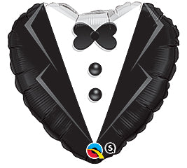 "18"" Wedding tuxedo Balloon"