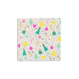 Merry + Bright Large Napkins (Pack of 16)