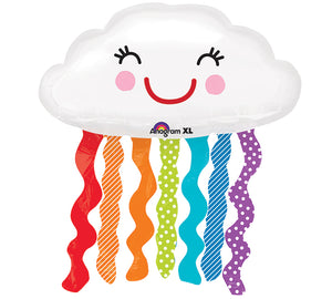 "30"" Rainbow Cloud Balloon"