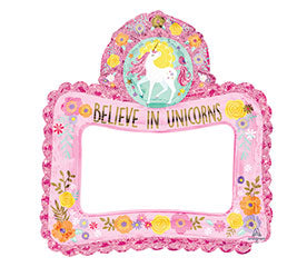 "27"" Selfie Frame Magical Unicorn"
