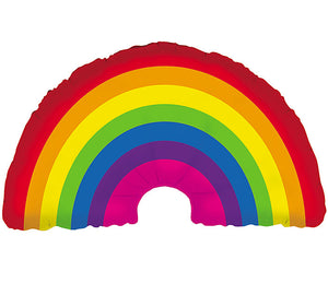 Oversized Rainbow Balloon-
