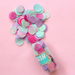 Jewel Tones and Pastels Confetti