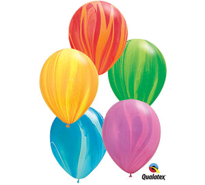 "12"" Marble Balloon Set"