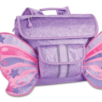 Sparkalicious Purple Butterflyer Backpack-Medium