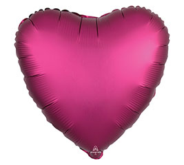"17"" Satin Luxe Heart Balloon"