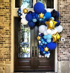 Front Door balloon swag