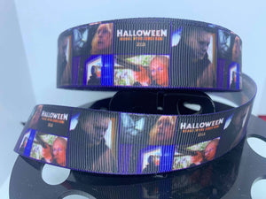 1 yard 1 inch Halloween 2018 Mike Myers Movies Grosgrain Ribbon