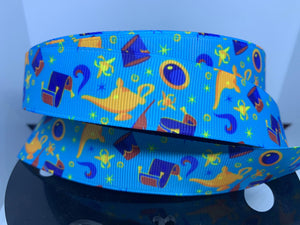 DCS Exclusive 1 yard 1 inch Disney Aladdin Items Grosgrain Ribbon