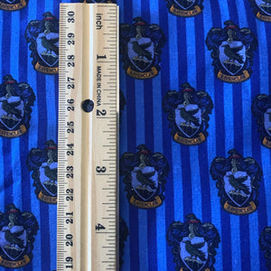 100% Cotton Ravenclaw Hogwarts House Inspired Custom Fabric