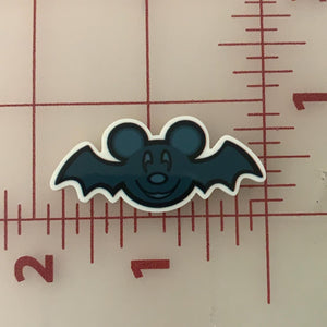 Halloween Mickey Mouse Bat Flat back Printed Resin