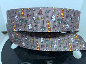 1 inch Harry Potter inspired Items Grosgrain Ribbon