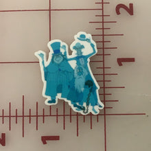 Haunted Mansion Hitchhiking Ghosts Flat back Printed Resin