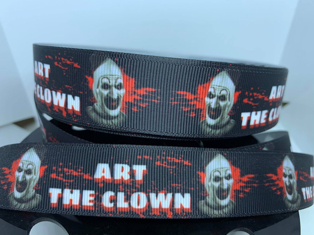 1 yard 1 inch Horror Art the Clown