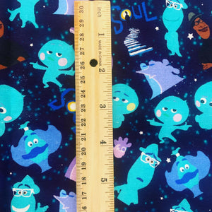 PRINT ON DEMAND 100% Cotton Soul Scatter Print Fabric