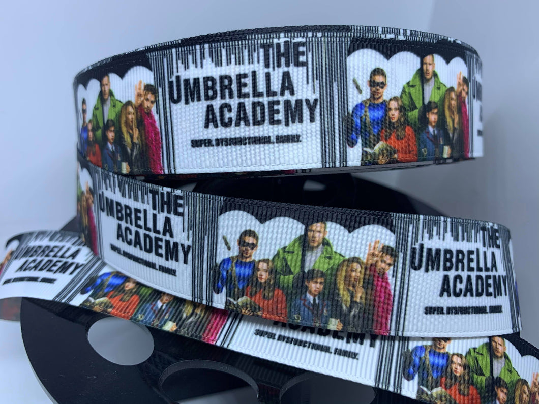 1 yard 1 inch New TV Show The Umbrella Academy Grosgrain Ribbon