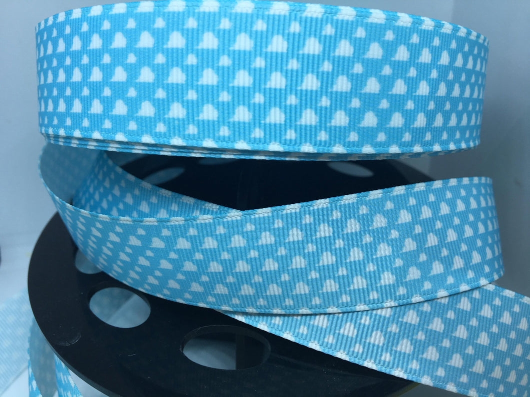 1 yard 1 inch Toy Story Andy's room wall Paper Grosgrain Ribbon - Mater  Ribbon - 25mm Woody Buzz Jesse