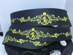 "1 yard 7/8"" Cruise Line Bow Art WONDER Grosgrain Ribbon"