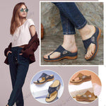 Load image into Gallery viewer, Dr.Care Zapatos Embroidery Orthopedic Comfy Flip Flop Sandals