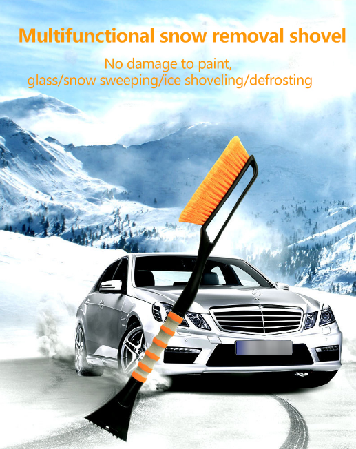 Car Snow Brush And Detachable Ice Scraper