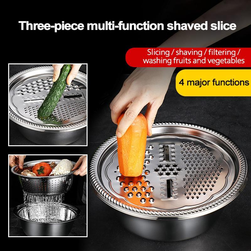Multifunctional Stainless Steel Basin