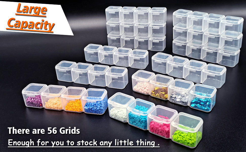 56 Grid Diamond Painting Container Box