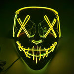 Load image into Gallery viewer, LED Halloween Purge Mask (2 PCS)