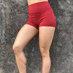 Load image into Gallery viewer, High Waist Brazilian Booty Scrunch Push Up Gym Shorts