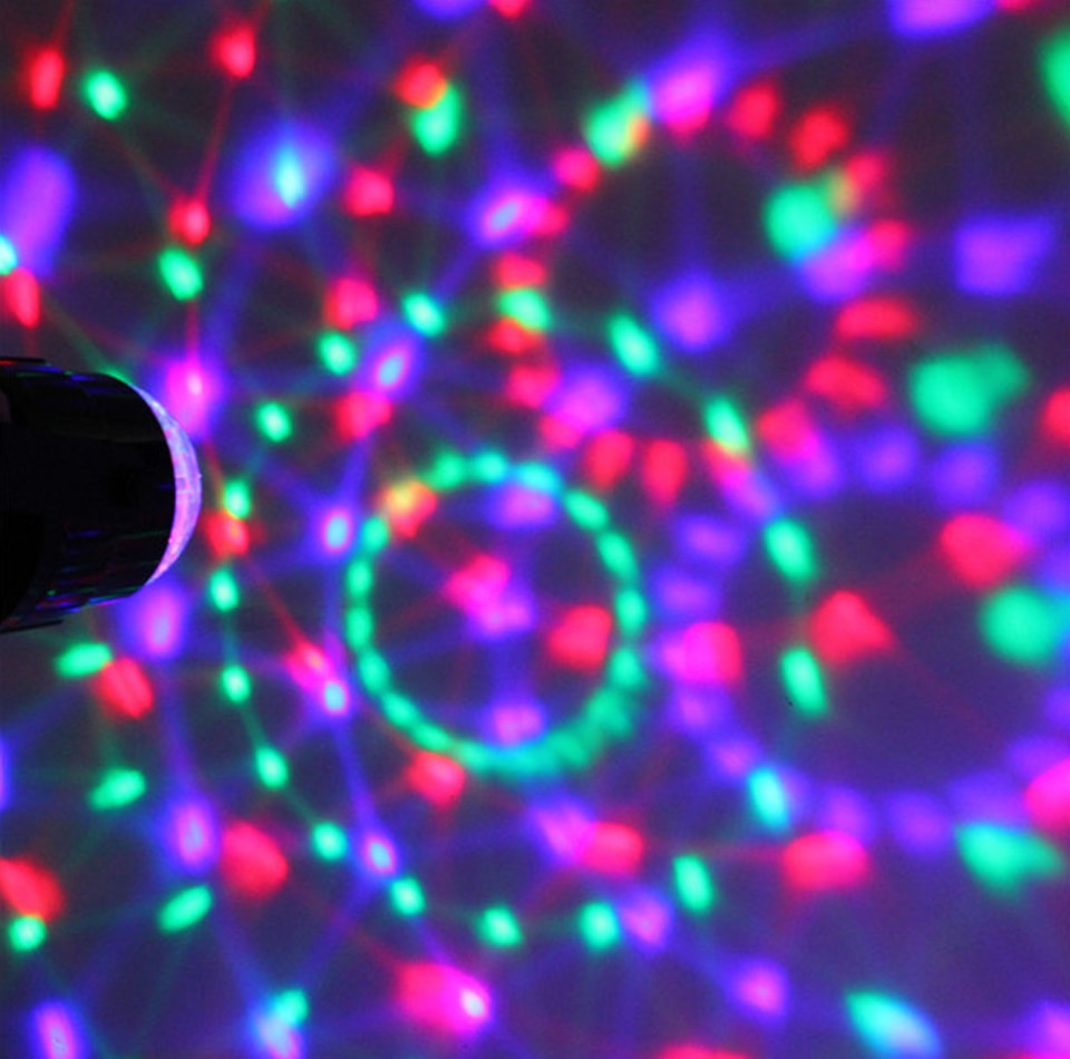 Sound Activated Party Lights