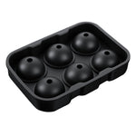 Load image into Gallery viewer, Sphere Ice Ball Maker with Lid and Large Square Ice Cube Molds