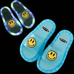 Load image into Gallery viewer, Smile LED Light Soft Base Slipper