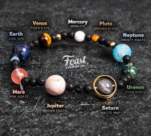 Milky Way Galaxy Bracelets - (with Free Necklace!)