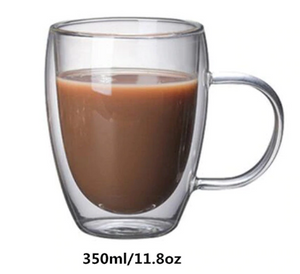 Double Wall Insulated Glasses Espresso Mugs