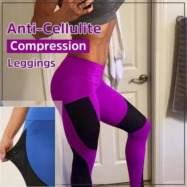 Anti Cellulite Mesh Push Up Workout Fitness Slim Tight