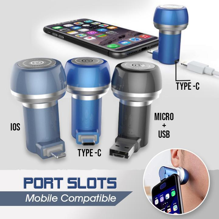 Portable Magnetic Mobile Phone Shaver