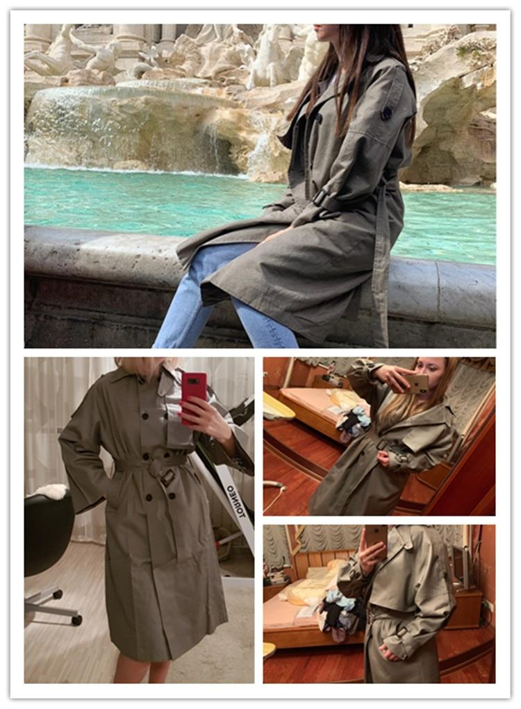 Meeting Ready Long Trench Coat
