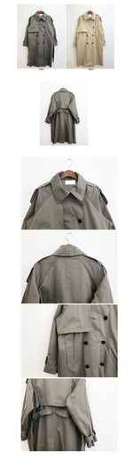 Load image into Gallery viewer, Meeting Ready Long Trench Coat