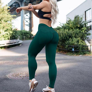 Hip Lifting Pocket Curve Accentuating Scrunch Leggings