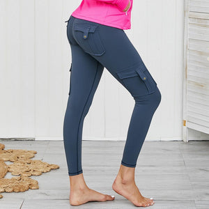 Tatum Cargo Pocket Push up Leggings (Colors)