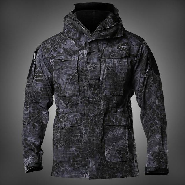 Tactical Military Waterproof Multi-pocket Casual Jacket