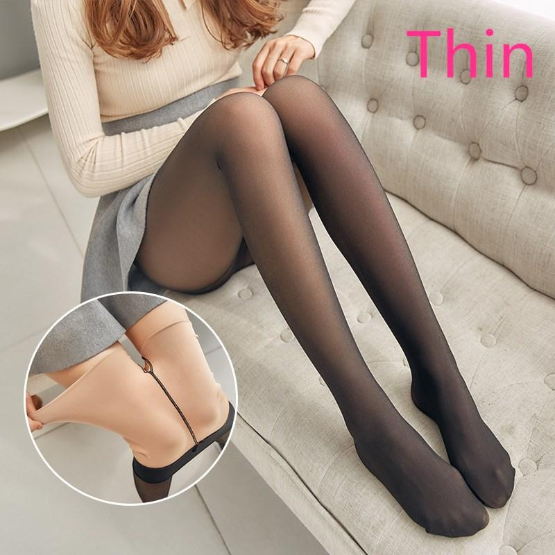 Thick Velvet Warm Mesh High Waist Slim Leggings