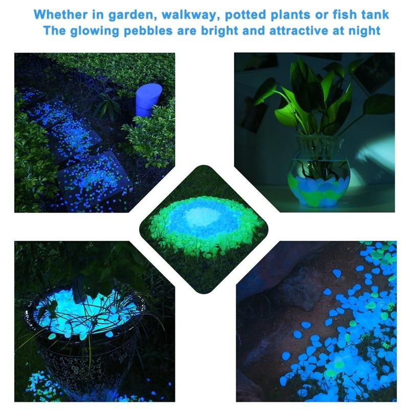 Path Patio Lawn Garden Decor Luminous Stones