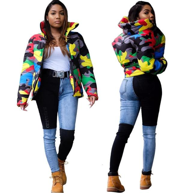 Candy Camo Thick Jacket