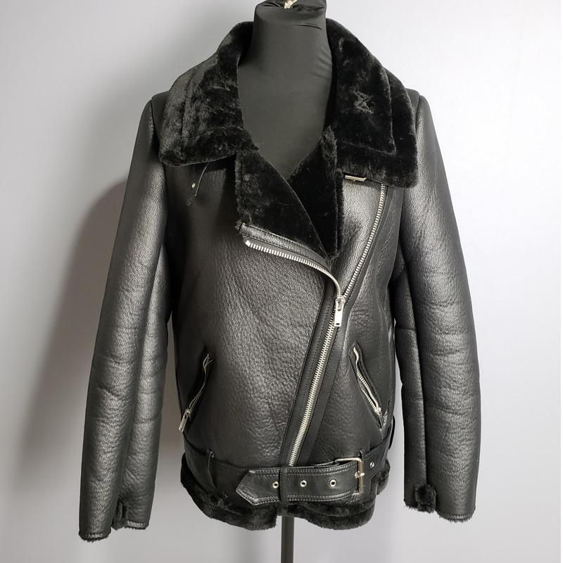 Packing Heat Faux Leather Jacket