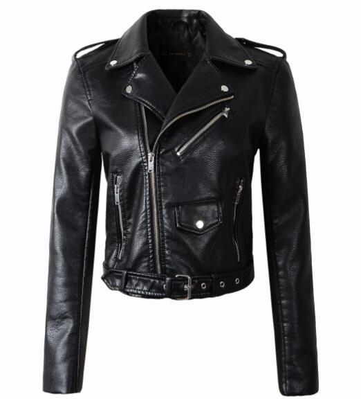 Under Warm Wishes Leather Jacket