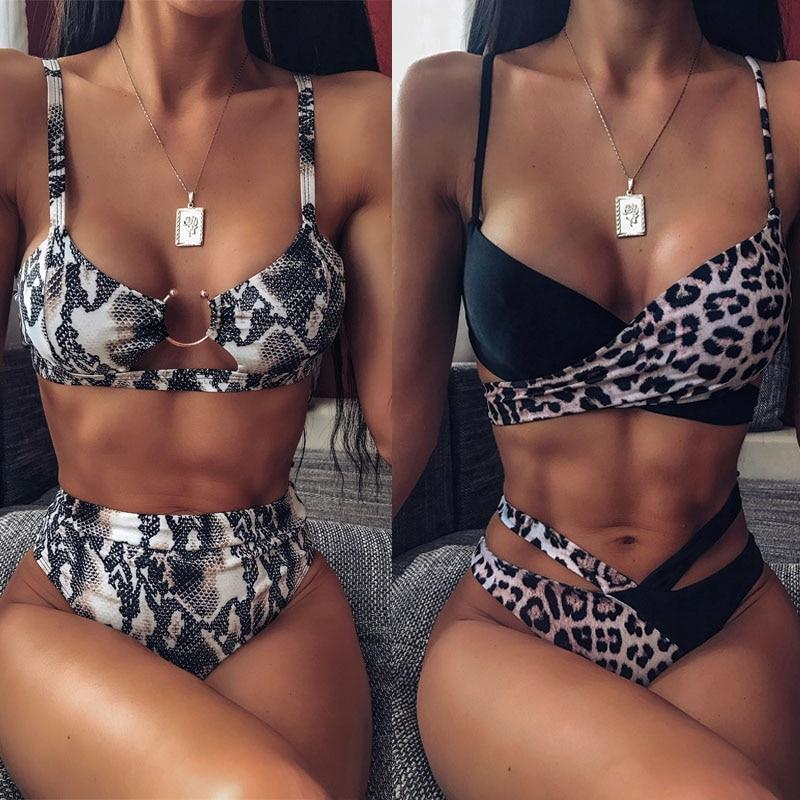 Women's High Waist Bikini Swimsuit